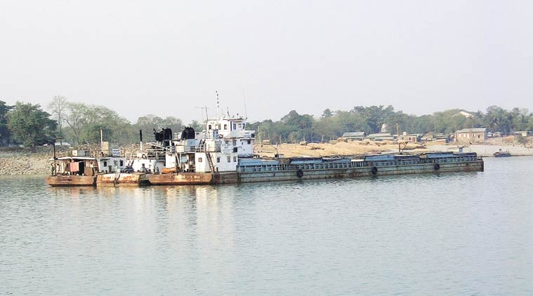 Inland Waterways for Fly Ash Transportation at NTPC Kahalgaon