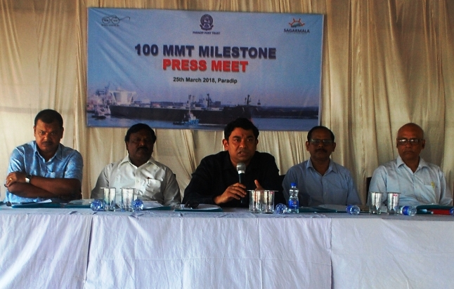 Paradip Port Achieves All-Time Record in vessel Movement & Single-Day Cargo handling