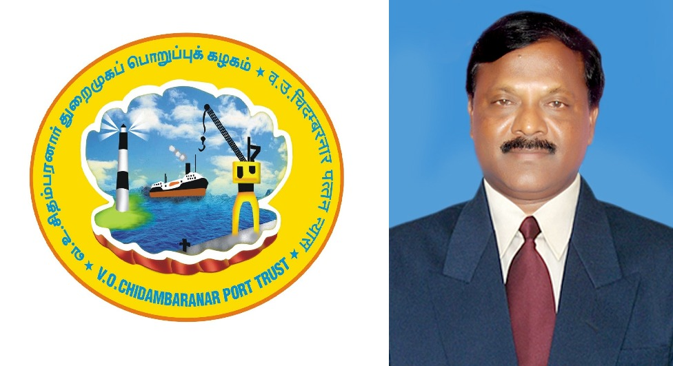 N. Vaiyapuri takes charge as Deputy Chairman of V.O. Chidambaranar Port Trust