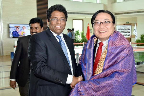 Asian Development Bank Vice-President Visits Sri City SEZ