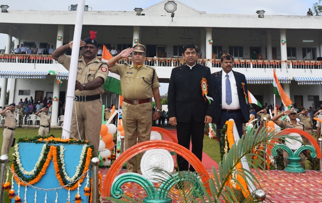 Paradip Port Trust Celebrates Independence Day