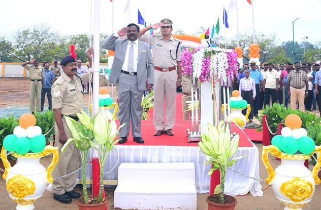 V O Chidambaranar Port Trust Celebrates Independence Day