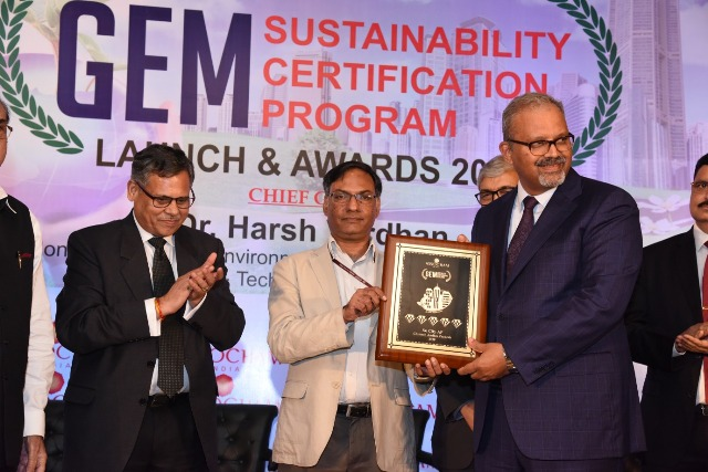 Sri City SEZ Receives Assocham GEM Sustainability Certification Award