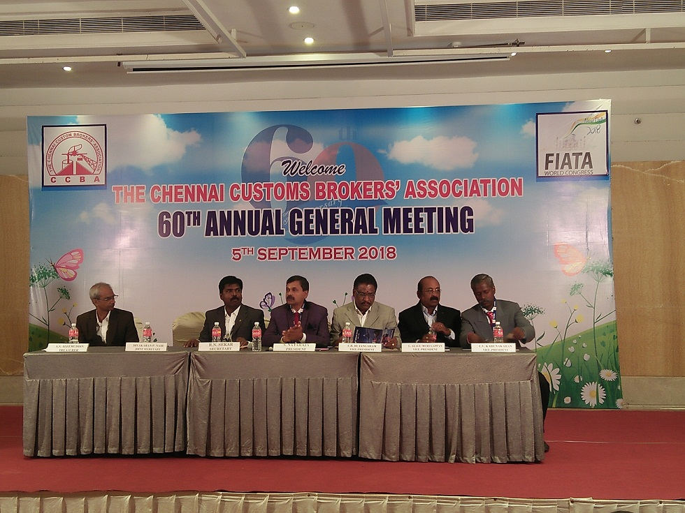 Chennai Custom Brokers' Association Organises its 60th AGM