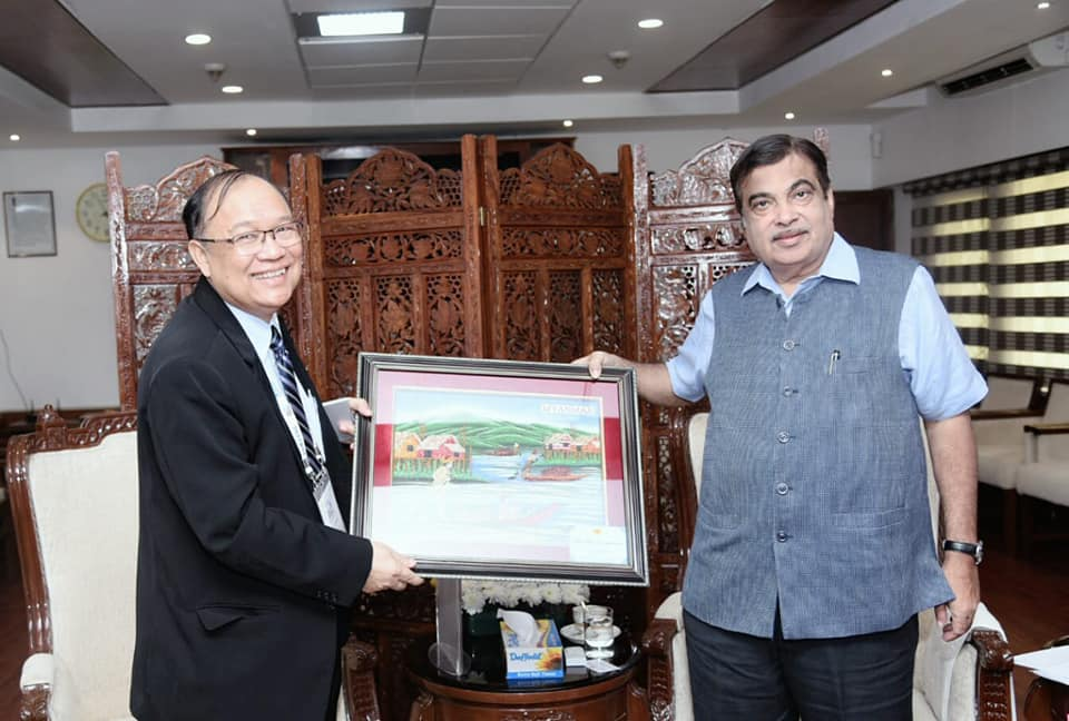 Gadkari Discusses Progress of India – Myanmar Transport Connectivity Projects