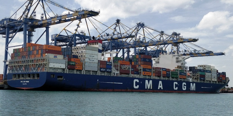 DP World's Chennai Container Terminal Welcomes Largest